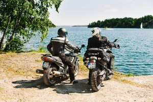 Halvarssons motorcycle riding gear with Outlast technology