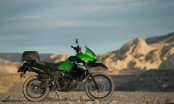 KLR650 New Edition Test Ride Death Valley