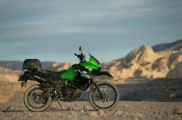 KLR650 New Edition Test Ride Death Valley