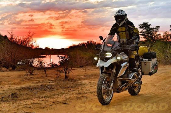 Northern Madagascar sunset.