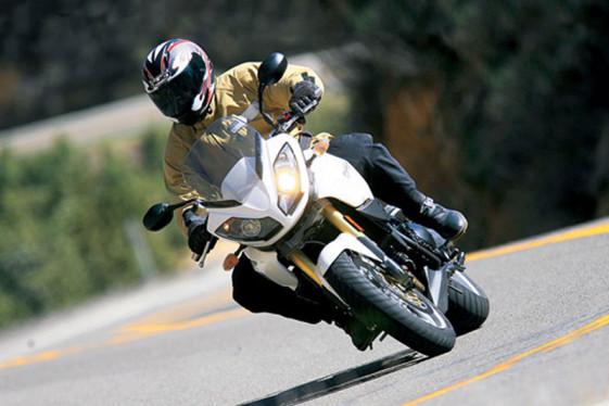 2012 Triumph Tiger 1050 fastest adventure motorcycle