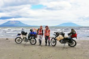 Twin Volcanoes Ometepe Island Nicaragua