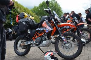 Rally Raid Prepared KTM 690 Enduro