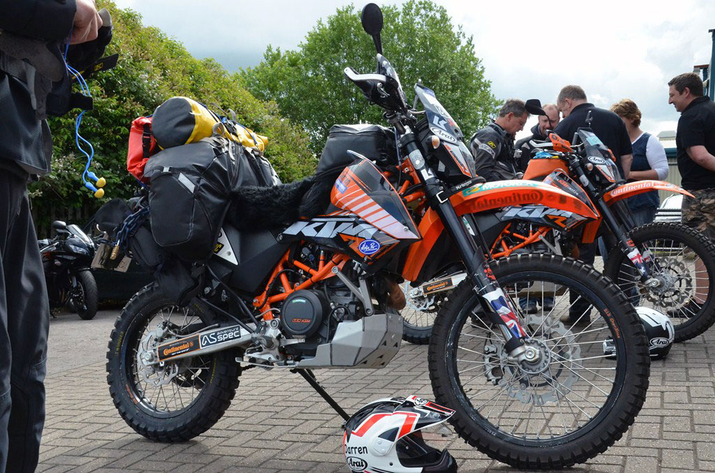 crossing 3 continents on a ktm 690 enduro - adv pulse