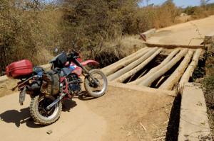 Dangerous Bridge in Madagascar