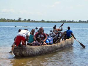 Madagascar boatman pirogues