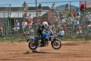 ADV Pulse contributor Mike Massucco joins in the fun at the Adventure Rodeo.