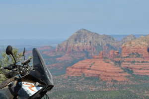 View of Sedona from Schnebly Road