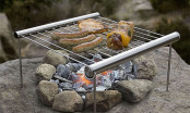 Grilliput Stainless Steel Backpacking Grill