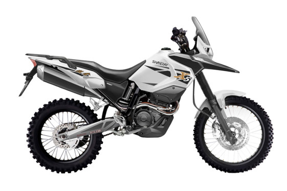Shineray X5 XY400GY lightest adventure bikes