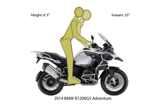 BMW R1200GS Adventure Ergos ergos