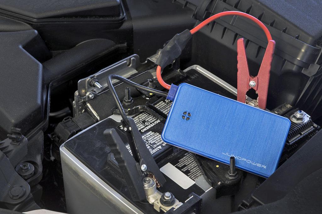 Small External Battery Charger Will Jump Start A
