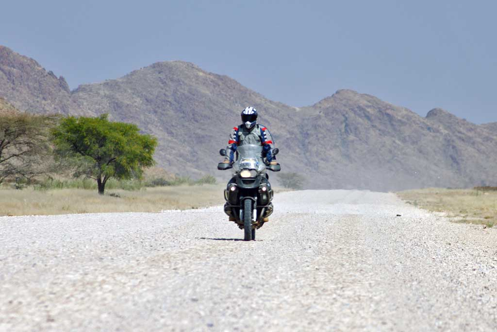 KTM motorcycle rally