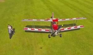Triumph Tiger motorcycle vs. Tiger Moth airplane