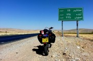 Road to Tehran on Yamaha TTR250