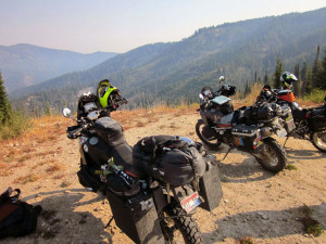Mountain Top Views on the Idaho Backcountry Discovery Route