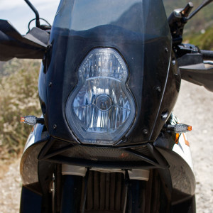 Dual Sport Blinkers Front View