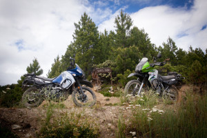 KLR's at Sepp's Point Touratech Rally Ride.