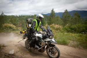 Paul Guillien and Son Daniel Touratech Rally