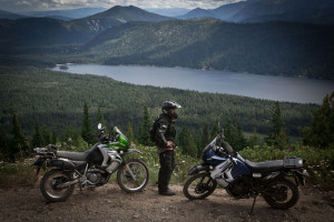 Sepps Point Lake Wenatchee View Touratech Rally