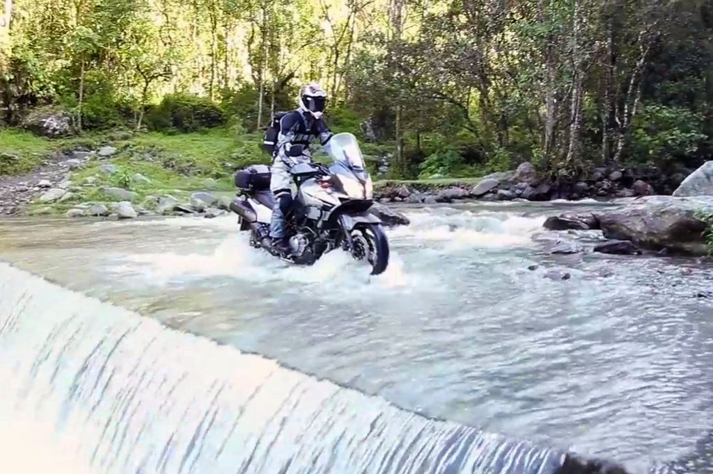 Riding a Colombian Waterfall