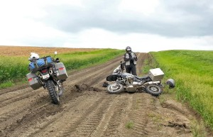 R1150GS Crash
