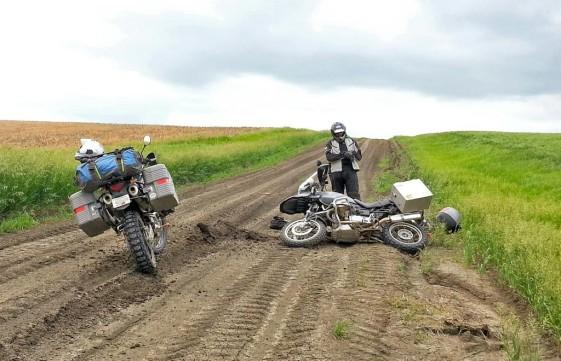 R1150GS Crash