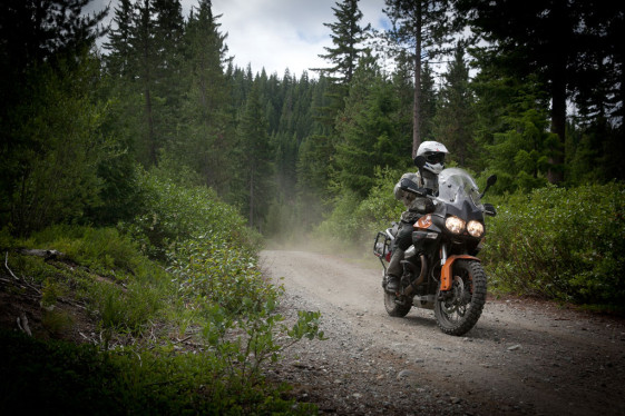 Moto Guzzi Stelvio Rider at the Touratech Rally