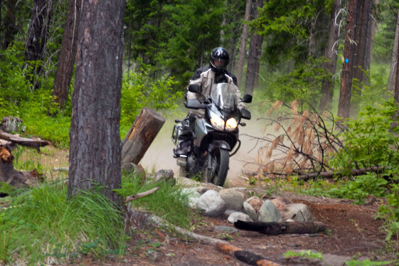 V-Strom Rider at the Touratech Rally