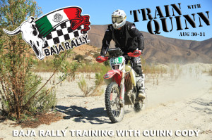 Baja Rally Training with Quinn Cody 2014