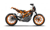Is the KTM 390 Duke Naked Bike a suitable platform for an Adventure Bike?