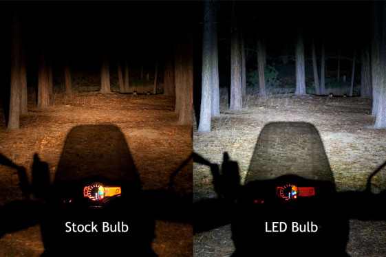 cyclops led headlight bulbs let you conquer the night. Black Bedroom Furniture Sets. Home Design Ideas