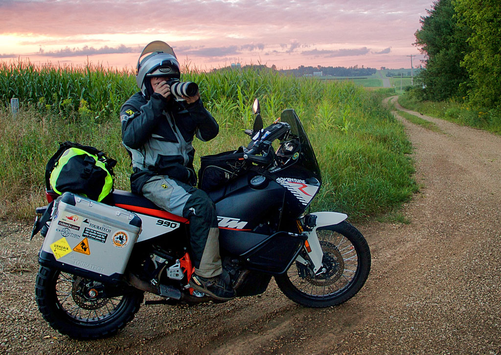 How To Safely Carry Dslr Camera Gear On An Adventure Bike