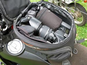 Camera Tank Bag Storage