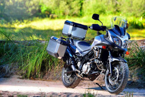 2015 Suzuki V-Strom 650XT off-road