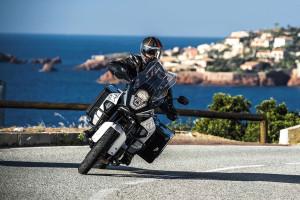 2015 KTM 1290 Super Adventure on the coast
