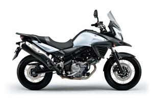 2015 Suzuki V-Strom 650 white
