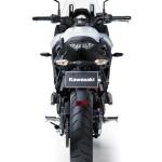 Rear view of the 2015 Kawasaki Versys 650