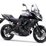 2015 Kawasaki Versys 650 in black.