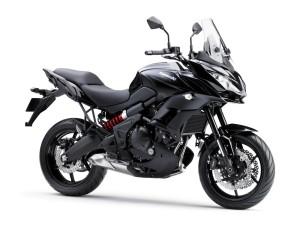 2015 Kawasaki Versys 650 in black.