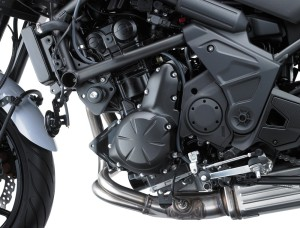 The new versys 650 now has better fuel efficiency.