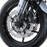 Improved braking power on the 2015 Versys 650.
