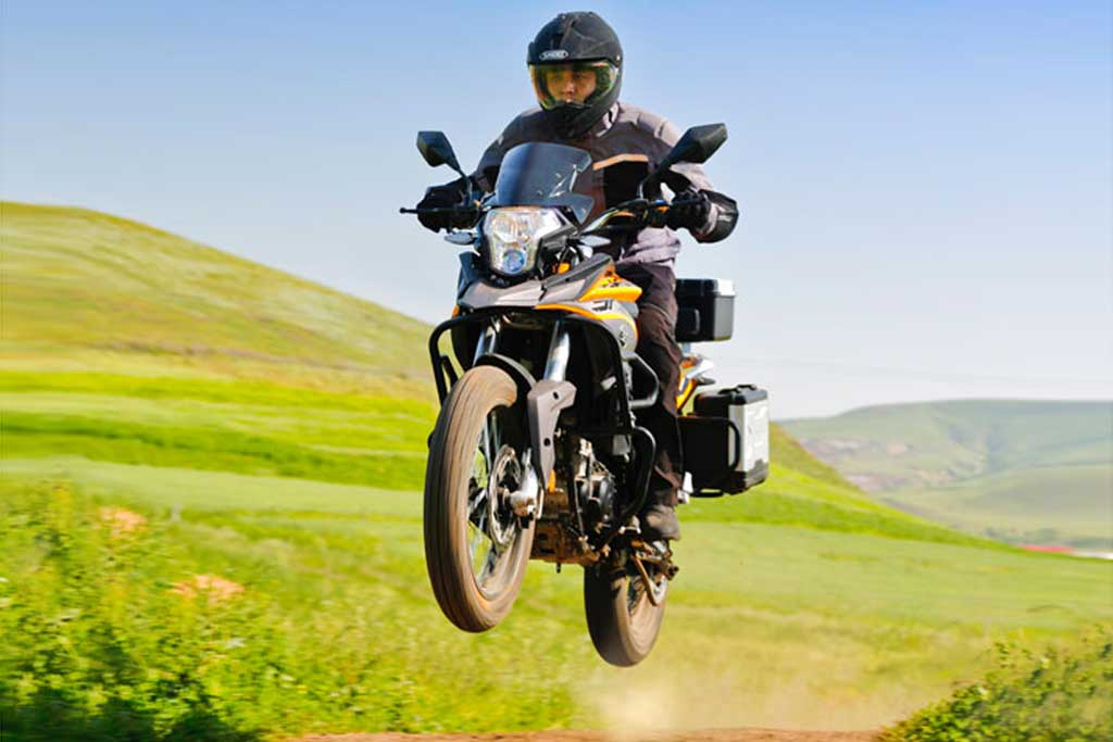 Chinese Built 250cc Adventure Bike Coming to the US - ADV ...