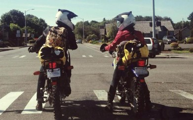 Making your wife your riding partner