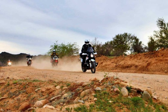 Adventure Motorcycle Riding in Groups