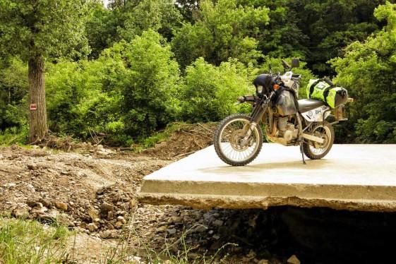 SW-Motech Bags-Connection High-Viz Dry Bag fits smaller bikes
