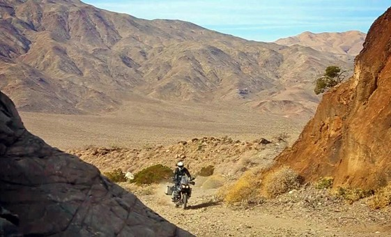 Death Valley Adventure Bike expedition