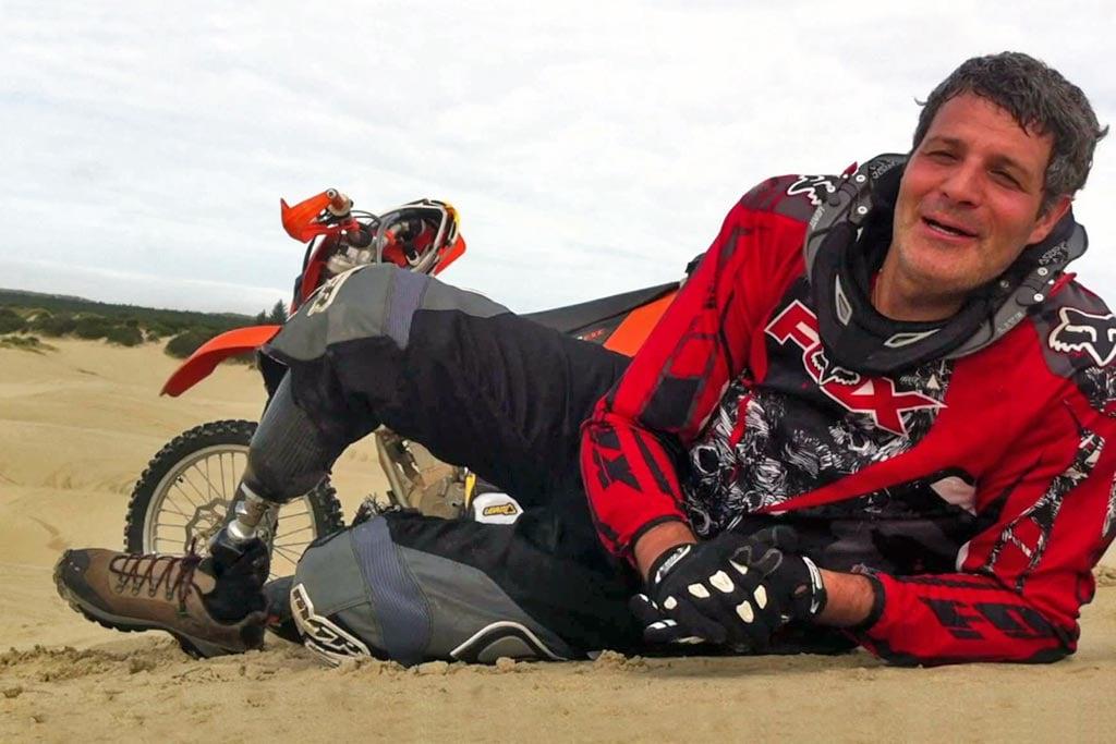 Erez Avramov Amputee Dakar Racer