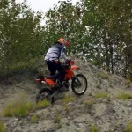 Erez Avramov riding off-road