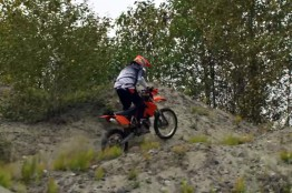 Erez Avramov riding off-road